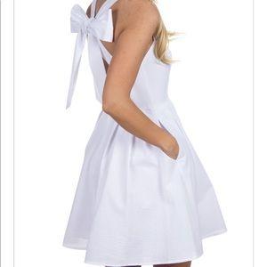 Lauren James Short White Dress